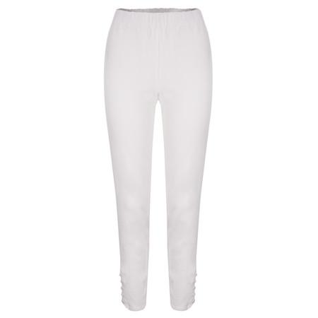 Masai Clothing Peaces Trouser - White