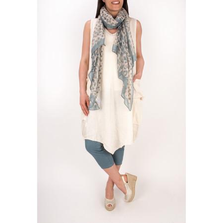 TOC  Demi Linen Tunic Dress - Off-white