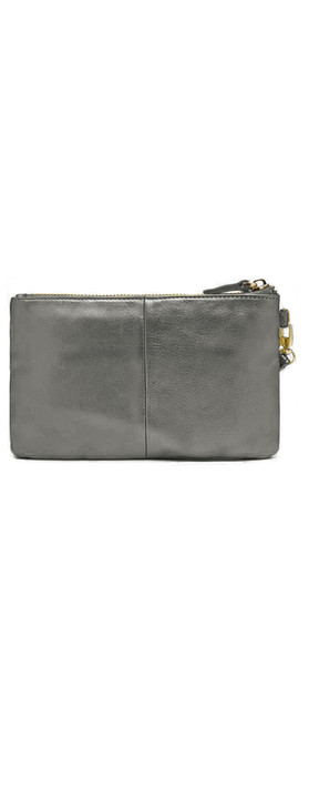 HButler Mighty Purse Wristlet Grey Shimmer