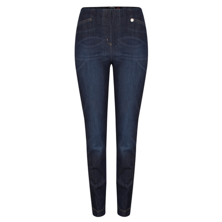 Robell Trousers Rose Slim Fit Jean - Blue