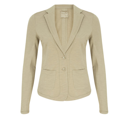 Sandwich Clothing Relaxed Cotton Slub Jersey Blazer - Brown