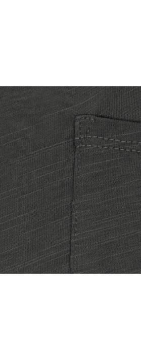 Sandwich Clothing Cotton Slub Jersey Dress Grey Magnet