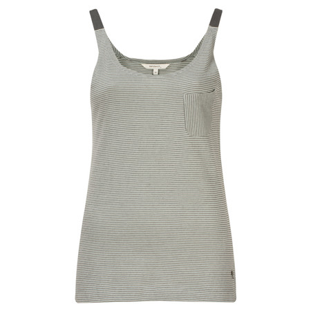 Sandwich Clothing Structured Stripe Top - Grey