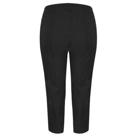 Robell Trousers Marie 07 Cropped Trouser - Black