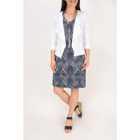 Sandwich Clothing Cotton Slub Jersey Cardigan - White