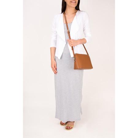 Sandwich Clothing Striped Jersey Maxi Dress  - Blue