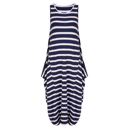 TOC  Drue Stripe Maxi Dress - Blue