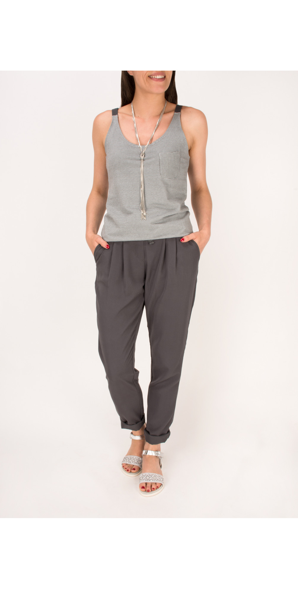 Rayon Twill Casual Trouser main image