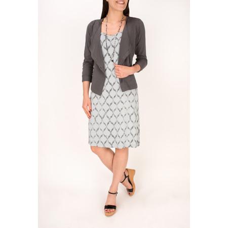 Sandwich Clothing Spray Print Dress - Grey