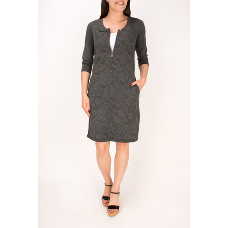 Sandwich Clothing Textured Jersey Dress - Grey