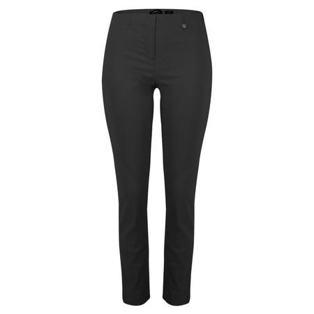 Robell Rose 78cm Black Narrow Leg Trouser - Black