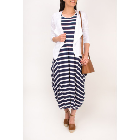 TOC  Drue Stripe Maxi Dress - Blue