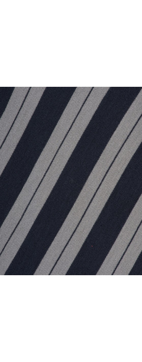 Sandwich Clothing Striped Viscose Jersey Top Blue Nights
