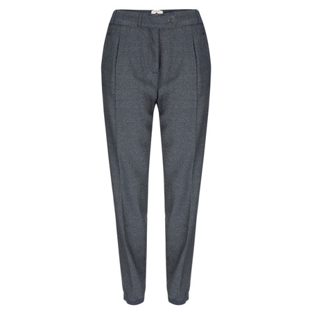 Sandwich Clothing Tailored Casual Trouser - Blue