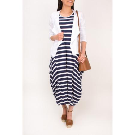 TOC  Drue Stripe Maxi Dress - Black