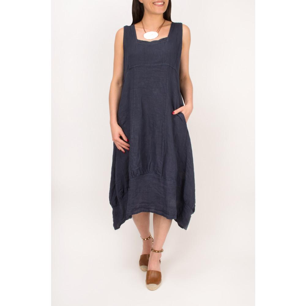 TOC Demelza Linen Dress Mocha