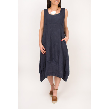 TOC  Demelza Linen Dress - Brown