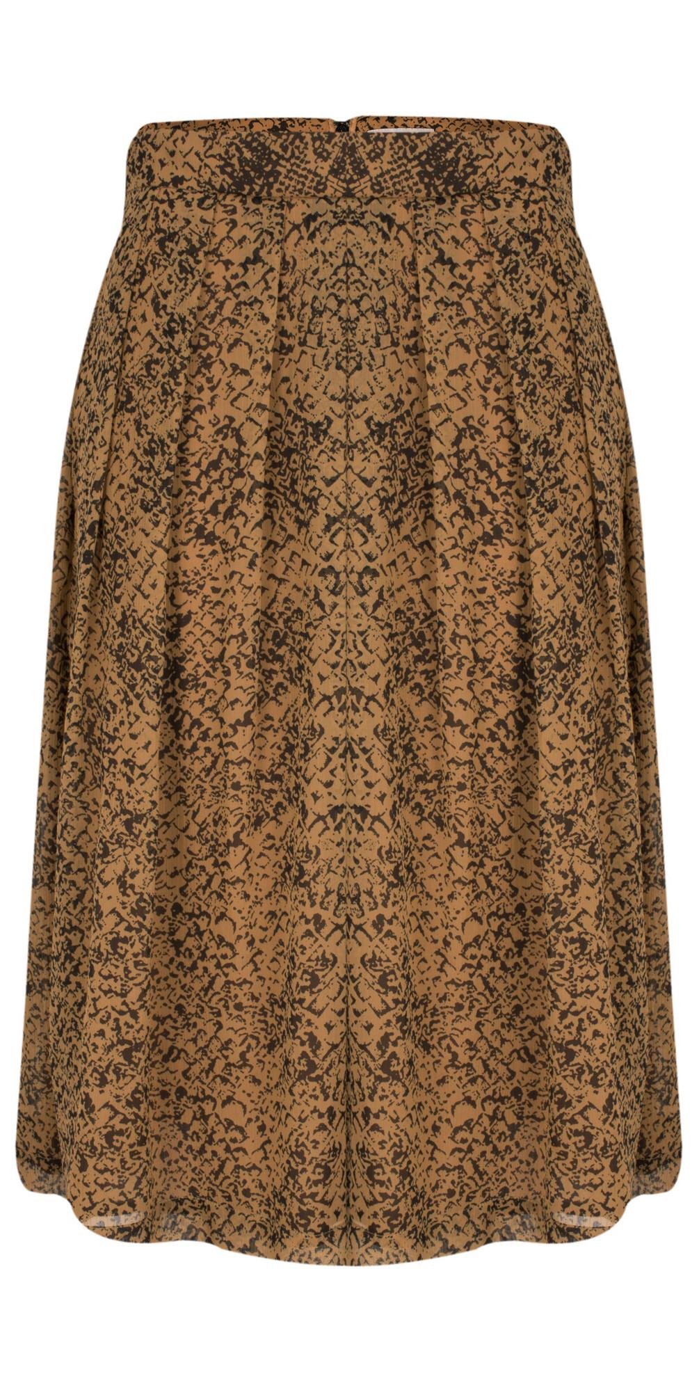Nordic Pine Combo Python Skirt