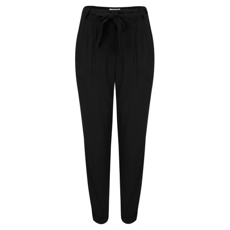 Great Plains Carmel Crepe Trouser - Black