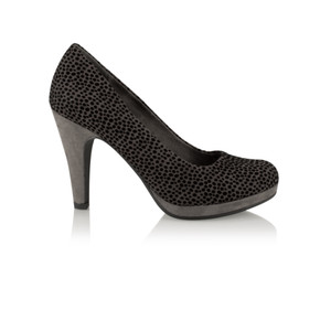 Marco Tozzi Leopardo Court Shoe