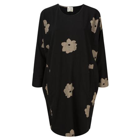 Masai Clothing Floral Gusta Tunic - Black