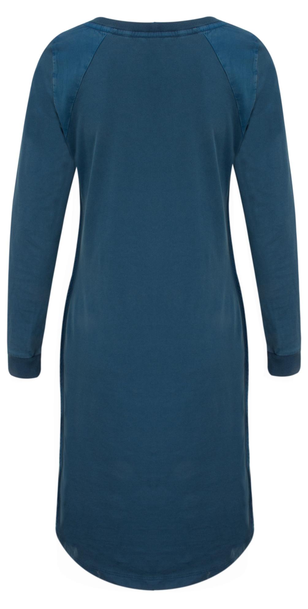 sandwich clothing single jersey dress in patriot blue. Black Bedroom Furniture Sets. Home Design Ideas