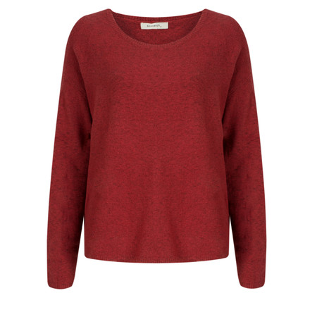 Sandwich Clothing Soft Fluffy Pullover - Red