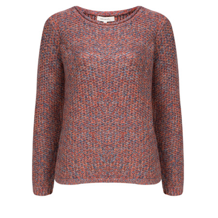 Sandwich Clothing Soft Textured Knit Pullover - Red
