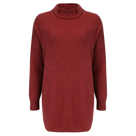 Sandwich Clothing Soft Fluffy Long Rollneck - Red