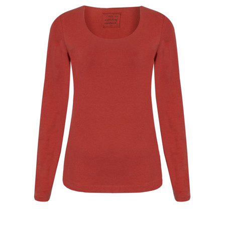 Sandwich Clothing Light Cotton Top - Red