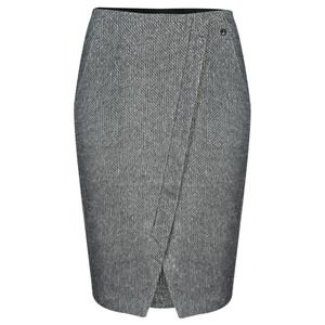 Sandwich Clothing Jacquard Fleece Skirt