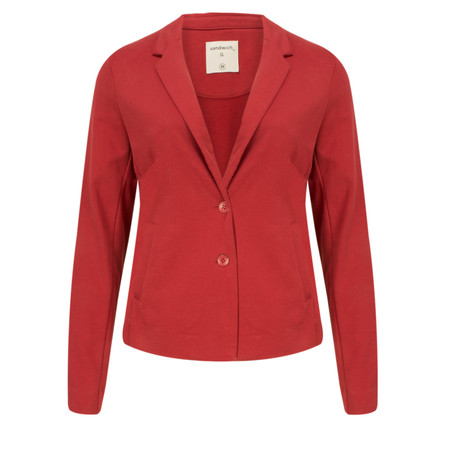 Sandwich Clothing French Terry Blazer - Red