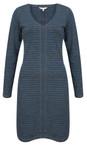 Sandwich Clothing Patriot Blue Double Face Striped Jersey Dress