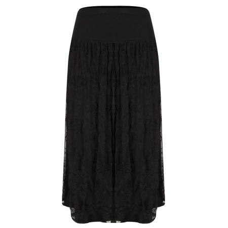 Myrine Lunel Mesh Skirt - Black