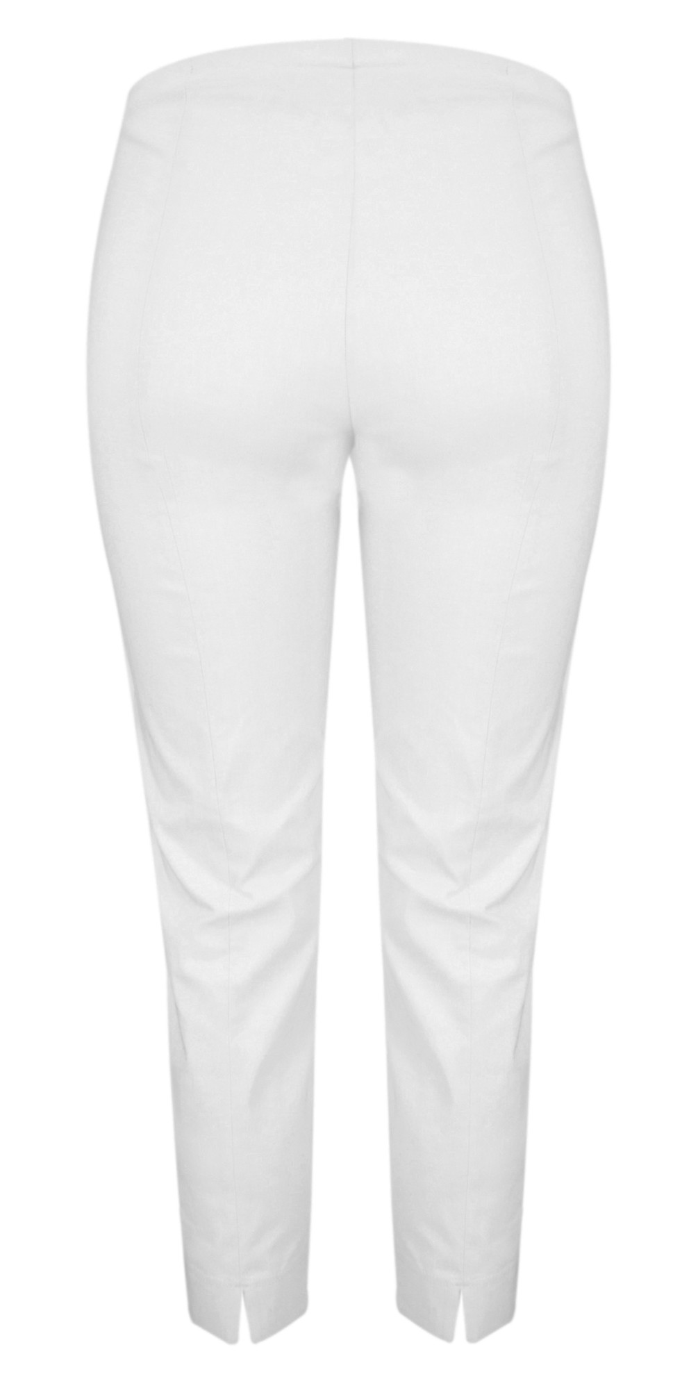 Rose 09 White Ankle Crop Narrow Trouser main image