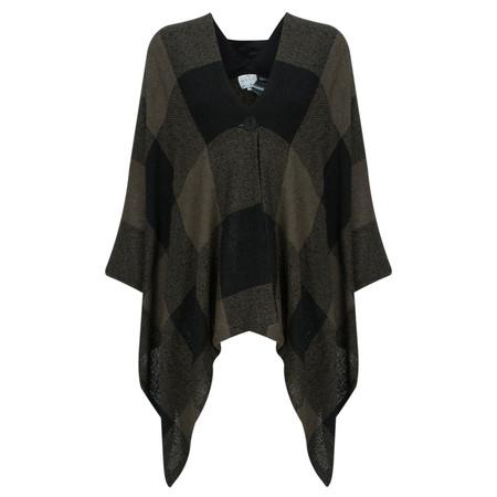 Masai Clothing Jutina Poncho - Brown
