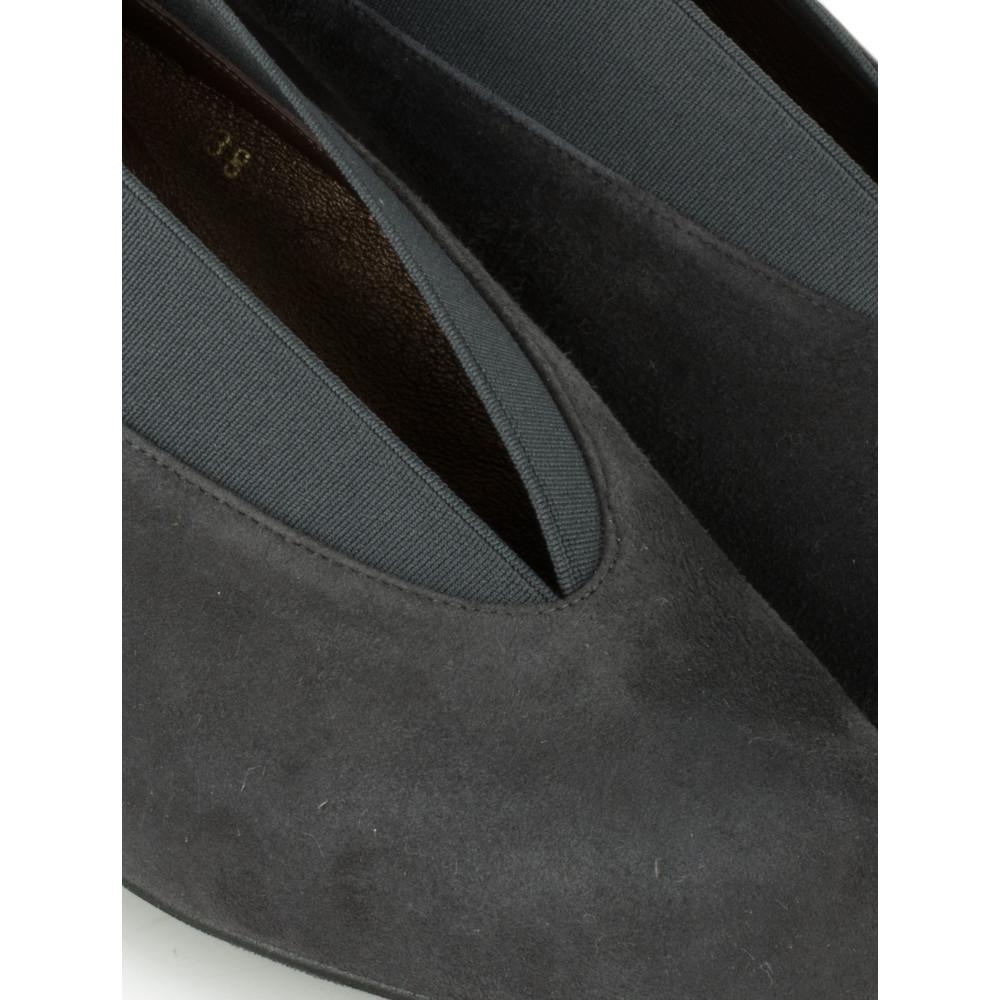 Gemini Label Shoes Brumabe Anthracite Suede Shoe Anthracite