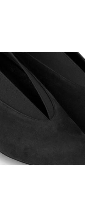 Gemini Label Shoes Brumabe Black Suede Shoe Black