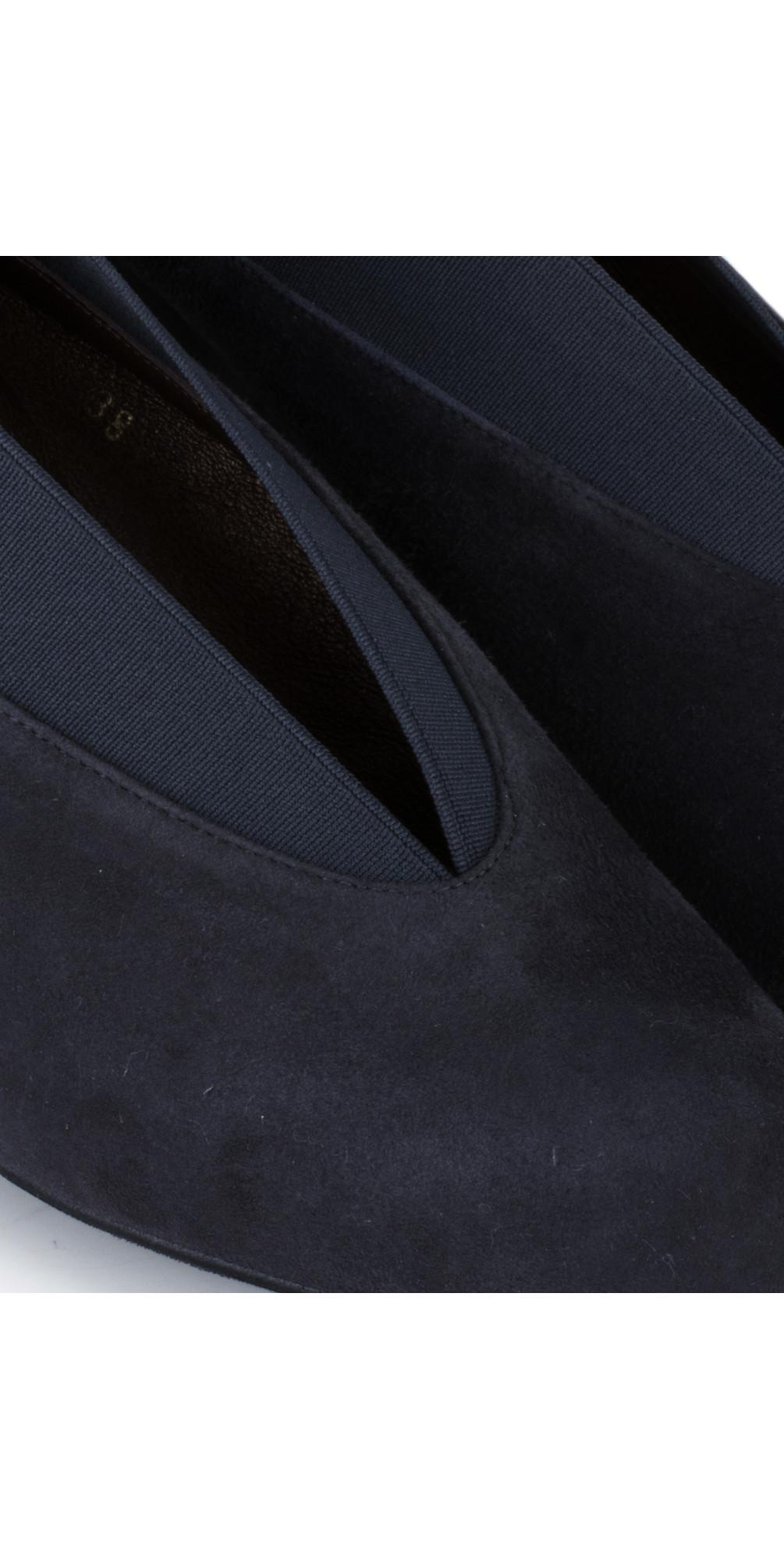 Brumabe Navy Suede Shoe main image
