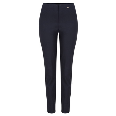 Robell Trousers Bella 78cm Slim Full Length Trouser - Blue