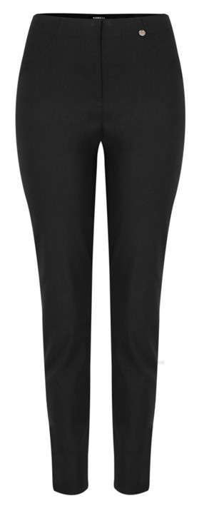 Robell Trousers Bella 78cm Slim Fit Trouser Black