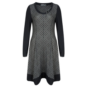 Simclan Daimond Printed Jersey Dress