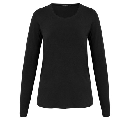 Two Danes Essential Betty Top - Black
