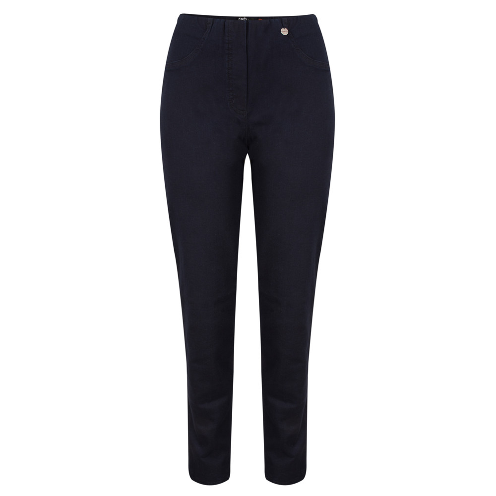 Robell Bella  Dark Navy Slim Fit Full Length Jean Dark Navy Blue