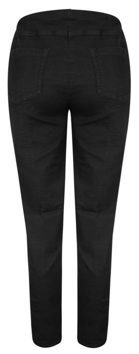 Robell Trousers Bella Slim Fit Full Length Jean Black