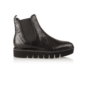 Kennel Und Schmenger Cracked Effect Leather Union Ankle Boot