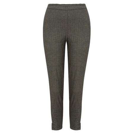 Masai Clothing Slim Fit Herringbone Pepsi Trouser - Black