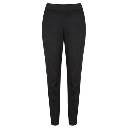 Sandwich Clothing Faux Suede Trousers - Black