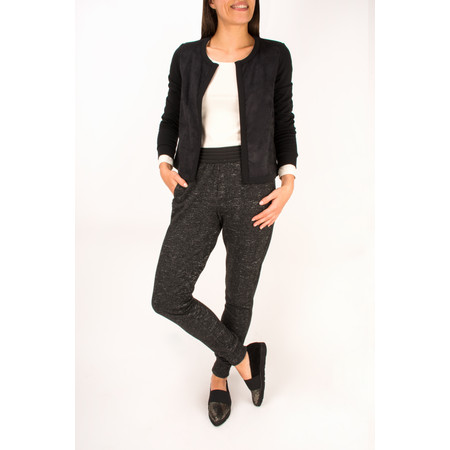 Sandwich Clothing Heather Sweat Jersey Trouser - Black
