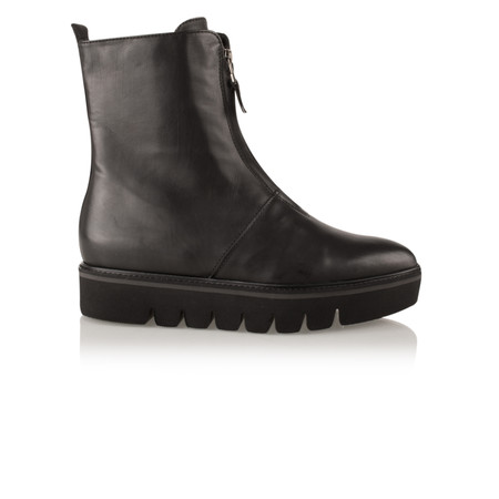 Kennel Und Schmenger Union Zip Front Ankle Boot - Black